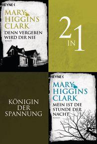 Mary  Higgins Clark - Denn vergeben wird dir nie/Mein ist die Stunde der Nacht - (2in1-Bundle)