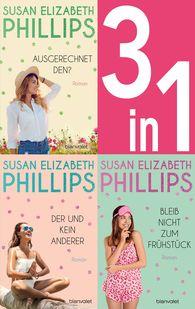Susan Elizabeth  Phillips - Die Chicago Stars Band 1-3: - Ausgerechnet den? / Der und kein anderer / Bleib nicht zum Frühstück (3in1-Bundle)