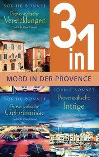 Sophie  Bonnet - Drei Fälle für Pierre Durand: Provenzalische Verwicklungen / Provenzalische Geheimnisse / Provenzalische Intrige (3in1-Bundle)
