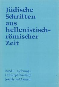 Christoph  Burchard - Joseph und  Aseneth