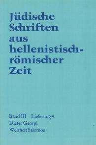 Dieter  Georgi - Weisheit  Salomos