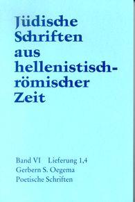 Gerbern S.  Oegema - Poetische Schriften