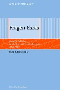 Jutta  Leonhardt-Balzer - Fragen Esras