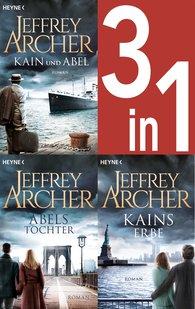 Jeffrey  Archer - Jeffrey Archer, Die Kain-Saga 1-3: Kain und Abel/Abels Tochter/ - Kains Erbe (3in1-Bundle)