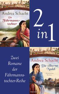 Andrea  Schacht - Myntha, die Fährmannstochter Band 1 und 2: Die Fährmannstochter / Die silberne Nadel