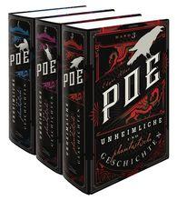 Edgar Allan  Poe, Kim  Landgraf  (Hrsg.) - Unheimliche und phantastische Geschichten (3 Bände)