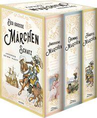 Wilhelm  Grimm, Jacob  Grimm, Wilhelm  Hauff, Hans Christian  Andersen - Der große Märchenschatz: Andersens Märchen, Grimms Märchen, Hauffs Märchen