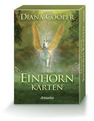 Diana  Cooper - Einhorn-Karten