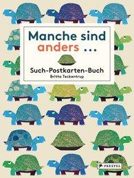 Britta  Teckentrup - Manche sind anders... Postkarten-Buch