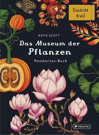 Katie  Scott - Das Museum der Pflanzen. Postkartenbuch