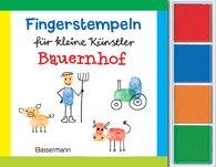 Norbert  Pautner - Fingerstempeln f.kl. Künstler- Bauernhof-Set