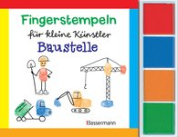 Norbert  Pautner - Fingerstempeln f. kl. Künstler-Baustelle-Set