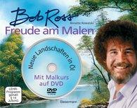 Bob  Ross, Annette  Kowalski - Freude am Malen-Set. Neue Landschaften in Öl. Ein Malkurs in Buch und auf DVD