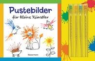 Norbert  Pautner - Pustebilder für kleine Künstler-Set. Mit 4 Kleckspipetten