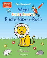 Nico  Sternbaum - Mein kunterbuntes Buchstaben-Buch. Spielerisch die Buchstaben von A bis Z lernen