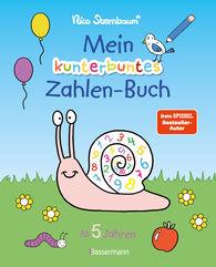 Nico  Sternbaum - Mein kunterbuntes Zahlen-Buch. Spielerisch die Zahlen von 1 bis 20 lernen.