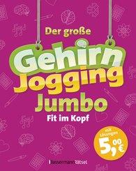 Eberhard  Krüger - Der große Gehirnjogging-Jumbo - bestes Training für den Kopf