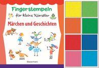 Norbert  Pautner - Fingerstempeln für kleine Künstler-Set. Märchen und Geschichten selber stempeln und erzählen.