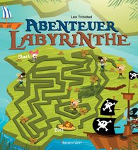Leo  Trinidad - Abenteuer-Labyrinthe. Bunt und spannend.