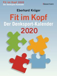 Eberhard  Krüger - Fit im Kopf - der Denksport-Kalender 2020