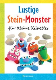 Norbert  Pautner - Jolly Stone-Monsters for Little Artists: Crafting with Natural Rocks