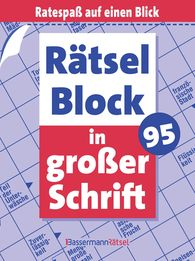 Eberhard  Krüger - Rätselblock in großer Schrift 95