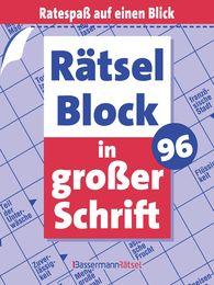 Eberhard  Krüger - Rätselblock in großer Schrift 96