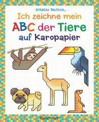 Norbert  Pautner - My Animal Alphabet, on Squared Paper: Learn the Alphabet by Drawing It