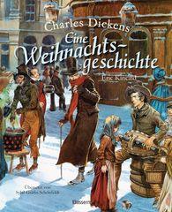 Charles  Dickens - Eine Weihnachtsgeschichte. Wundervoll illustriert von Eric Kincaid. Für Kinder ab 8 Jahren
