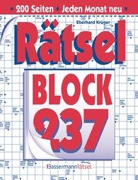 Eberhard  Krüger - Rätselblock 237 (5 Exemplare à 2,99 €)