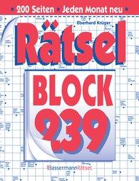 Eberhard  Krüger - Rätselblock 239 (5 Exemplare à 2,99 €)