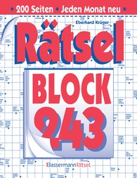 Eberhard  Krüger - Rätselblock 243 (5 Exemplare à 2,99 €)