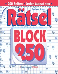 Eberhard  Krüger - Rätselblock 250 (5 Exemplare à 2,99 €)