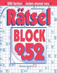 Eberhard  Krüger - Rätselblock 252 (5 Exemplare à 2,99 €)