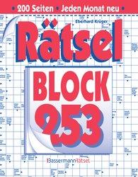 Eberhard  Krüger - Rätselblock 253 (5 Exemplare à 2,99 €)