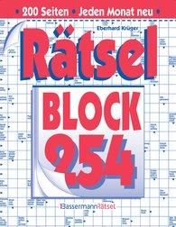 Eberhard  Krüger - Rätselblock 254 (5 Exemplare à 2,99 €)