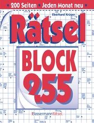 Eberhard  Krüger - Rätselblock 255 (5 Exemplare à 2,99 €)