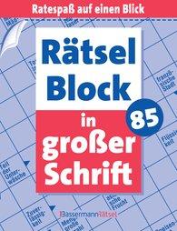 Eberhard  Krüger - Rätselblock in großer Schrift 85