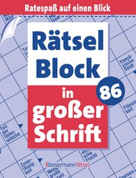 Eberhard  Krüger - Rätselblock in großer Schrift 86