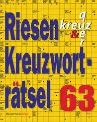 Eberhard  Krüger - Riesen-Kreuzworträtsel 63
