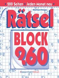 Eberhard  Krüger - Rätselblock 260 (5 Exemplare à 2,99 €)