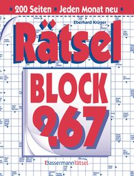 Eberhard  Krüger - Rätselblock 267 (5 Exemplare à 2,99 €)