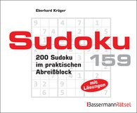 Eberhard  Krüger - Sudoku Block 159 (5 Exemplare à 2,99 €)