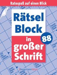 Eberhard  Krüger - Rätselblock in großer Schrift 88 (5 Exemplare à 2,99 €)
