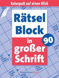 Eberhard  Krüger - Rätselblock in großer Schrift 90 (5 Exemplare à 2,99 €)