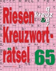 Eberhard  Krüger - Riesen-Kreuzworträtsel 65 (5 Exemplare à 2,99 €)