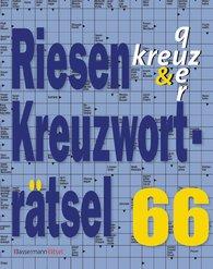 Eberhard  Krüger - Riesen-Kreuzworträtsel 66 (5 Exemplare à 2,99 €)