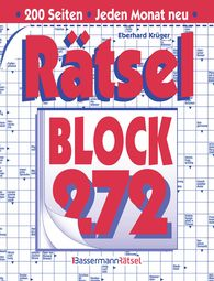 Eberhard  Krüger - Rätselblock 272 (5 Exemplare à 2,99 €)