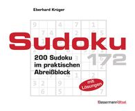 Eberhard  Krüger - Sudoku Block 172 (5 Exemplare à 2,99 €)