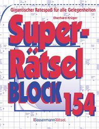 Eberhard  Krüger - Superrätselblock 154 (5 Exemplare à 3,99 €)